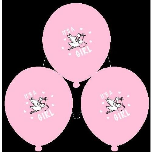 Parti Paketi It's A Girl Balon 25'Li