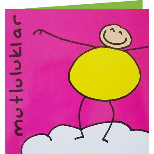 Parti Paketi Mutluluklar Kart/Zarf