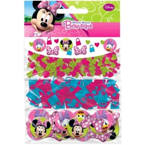 Parti Paketi Minnie Mouse Konfeti Seti 3'Lü