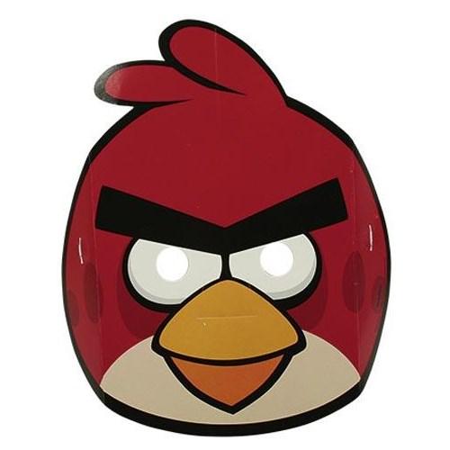 Parti Paketi Angry Birds Maskeler 6'Lı