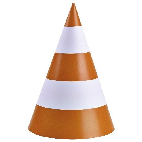 Parti Paketi İnşaat Partisi Uyarı Konisi Şapka/Dekor