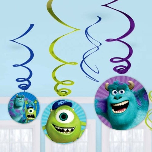 Parti Paketi Monsters University Süs Dalgaları