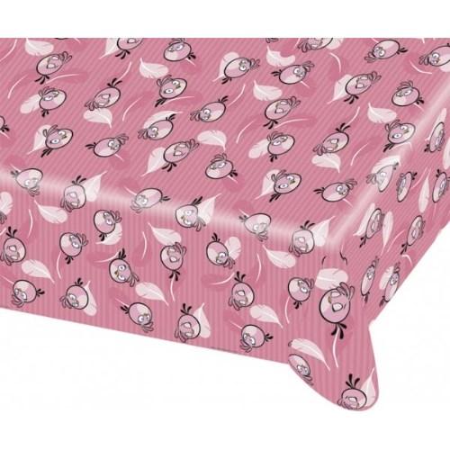 Parti Paketi Angry Birds Pink Masa Örtüsü