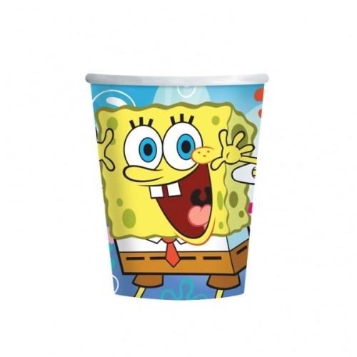 Parti Paketi Sponge Bob Bardak 8'Li