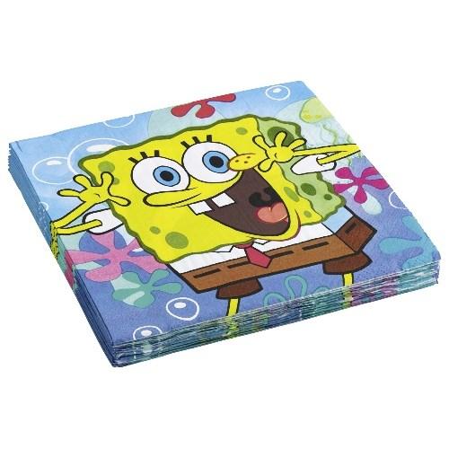 Parti Paketi Sponge Bob Peçete 20'Li