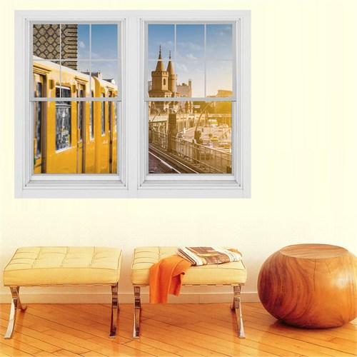 Dekorjinal Pencere Sticker Pnc046