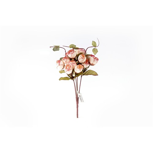 Yedifil Kuşburnu Yapay Çiçek - Beyaz
