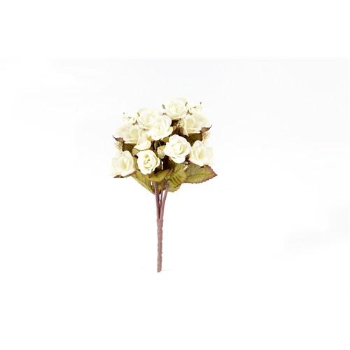 Yedifil Kamelya Beyaz Yapay Çiçek1 Alana 1 Bedava