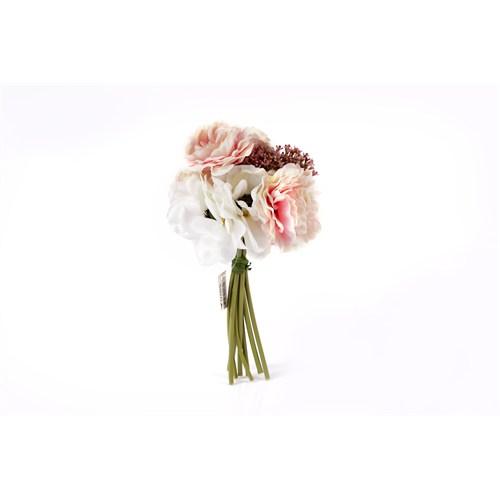 Yedifil Orkide Gelin Eli Yapay Çiçek - Beyaz1 Alana 1 Bedava