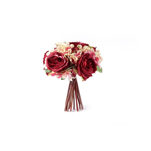 Yedifil Şakayık Gelin Eli Yapay Çiçek - Kırmızı1 Alana 1 Bedava