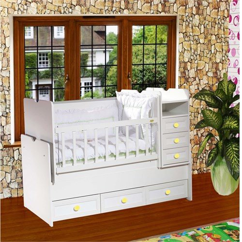 Banana Baby&Kids Nilüfer Büyüyen Beşik Asansörlü