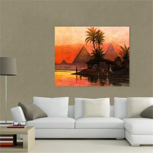 Atlantis Tablo Nil'de Günbatımı 60X50 Cm