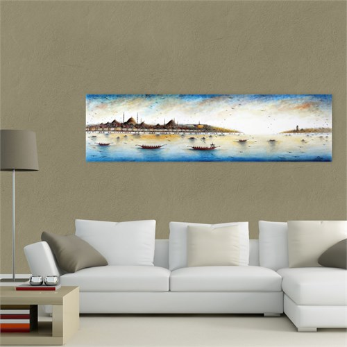 Atlantis Tablo İstanbul Panorama 100X30 Cm