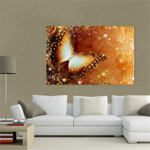 Atlantis Tablo Altın Kelebek 75X50 Cm
