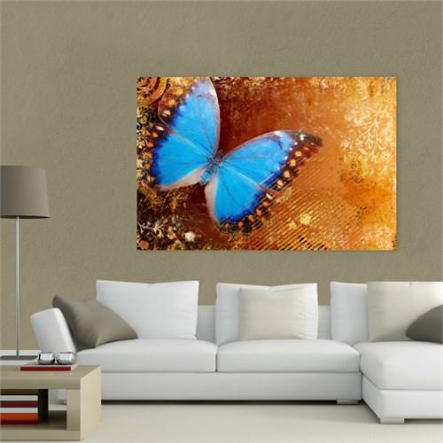 Atlantis Tablo Mavi Kelebek 75X50 Cm
