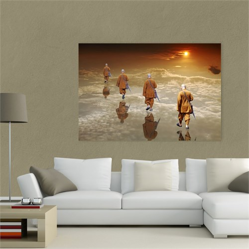 Atlantis Tablo Nirvana Yolunda 75X50 Cm