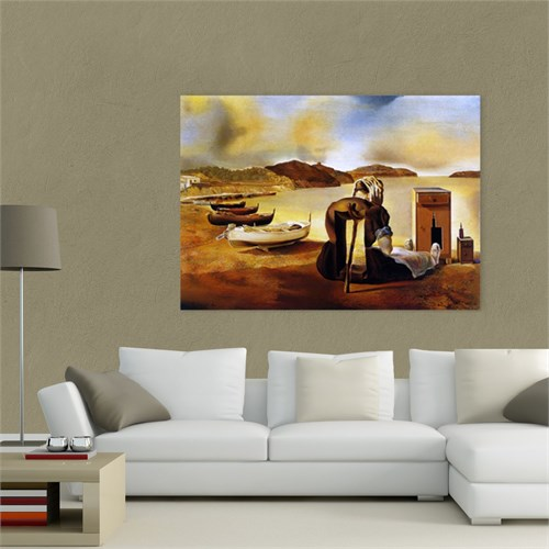 Atlantis Tablo Dali The Weaning of Furniture 70X50 Cm