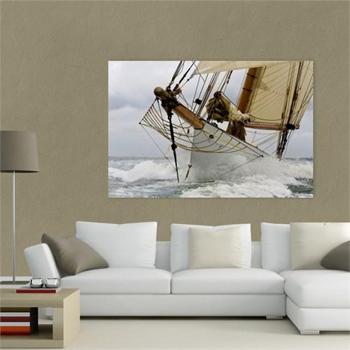 Atlantis Tablo Denizde Yelkenli 75X50 Cm