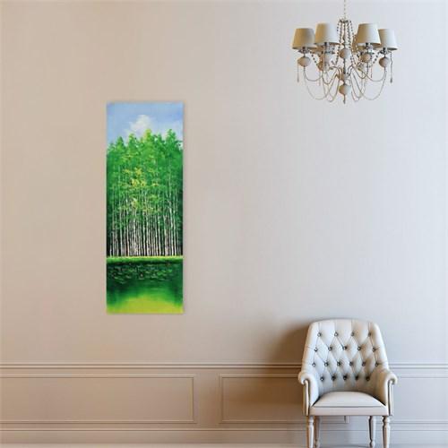 Atlantis Tablo Ağaçlar 30X85 Cm
