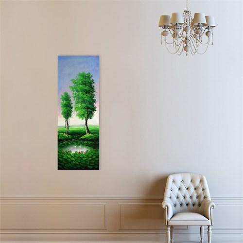 Atlantis Tablo İki Ağaç 30X85 Cm