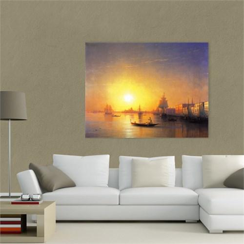 Atlantis Tablo Venedik, 1874 65X50 Cm