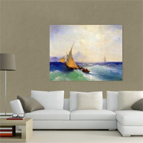 Atlantis Tablo Denizde Kurtarma, 1872 65X50 Cm