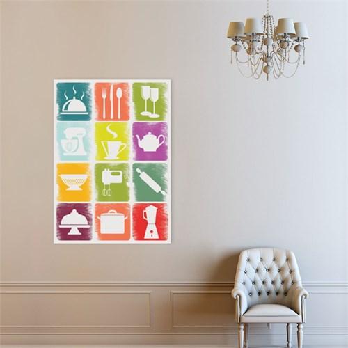 Atlantis Tablo Colours in Kitchen 50X70 Cm