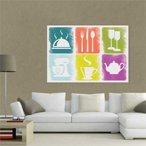Atlantis Tablo Colours in Kitchen 3 75X50 Cm