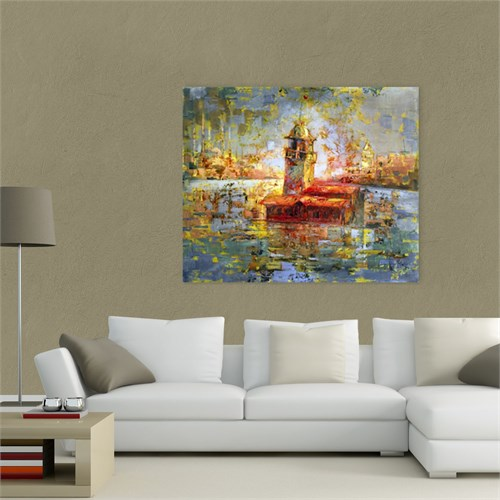 Atlantis Tablo Kız Kulesi 60X50 Cm