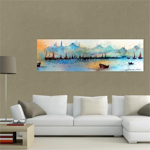 Atlantis Tablo İstanbul Manzarası 90X30 Cm