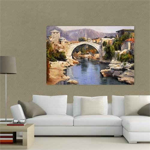 Atlantis Tablo Mostar Köprüsü 75X50 Cm