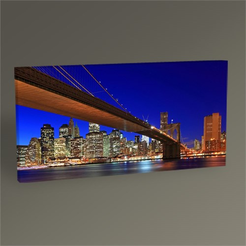 Tablo 360 New York City Brooklyn Bridge Tablo 100X50