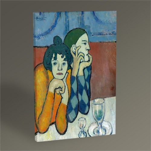 Tablo 360 Pablo Picasso The Two Saltimbanques Tablo 45X30