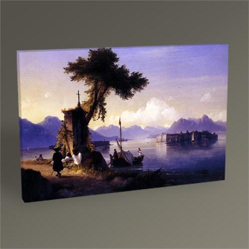 Tablo 360 İvan Ayvazovski Maggiore Gölü Tablo 45X30