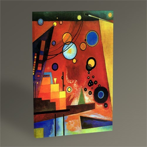 Tablo 360 Wassily Kandinsky Heavy Red Tablo 45X30