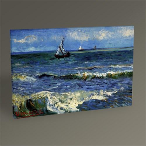 Tablo 360 Vincent Van Gogh Saintes Marie'de Deniz Manzarası Tablo 45X30