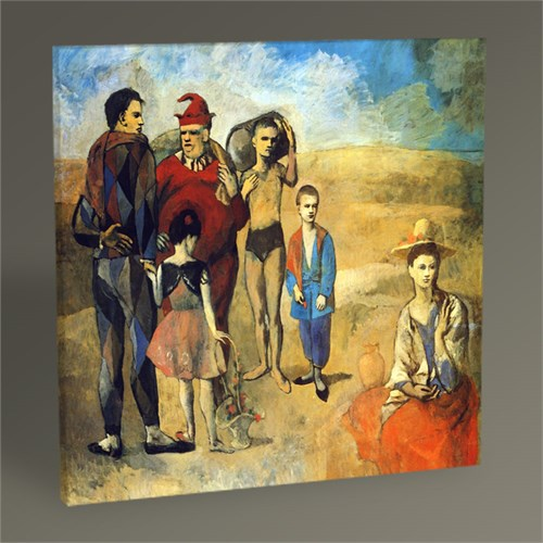 Tablo 360 Pablo Picasso Family Of Saltimbanques Tablo 30X30