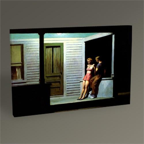 Tablo 360 Edward Hopper Sommerabend Tablo 45X30