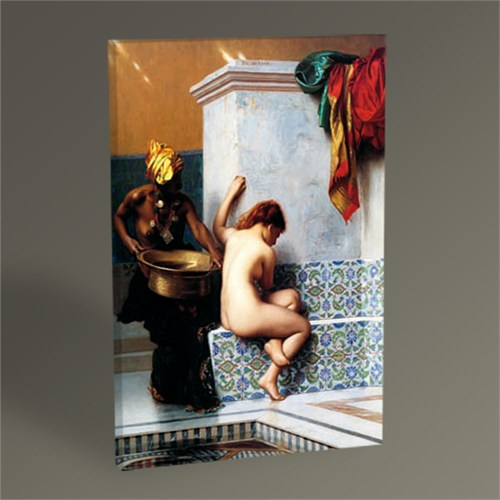 Tablo 360 John Leon Gerome Hamam Sefası Tablo 45X30