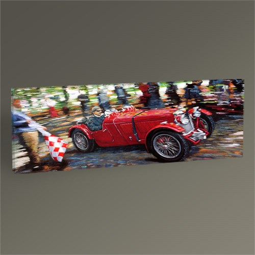 Tablo 360 Red Race Car Tablo 60X20