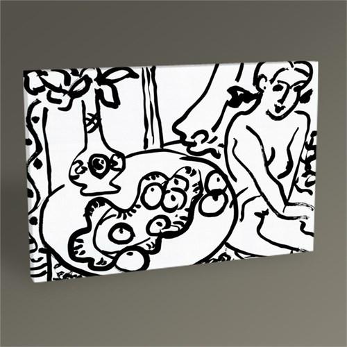 Tablo 360 Henri Matisse Composition Avec Fruits Et Modele Tablo 45X30