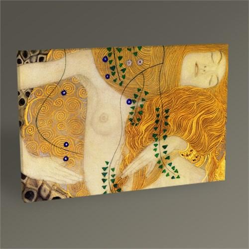 Tablo 360 Gustav Klimt Wasserschlangen Tablo 45X30