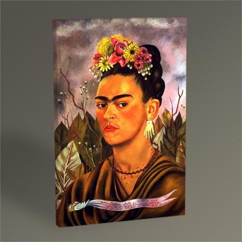 Tablo 360 Frida Kahlo Portrait Tablo 45X30