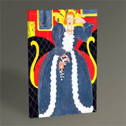 Tablo 360 Henri Matisse Lady İn Blue Tablo 45X30