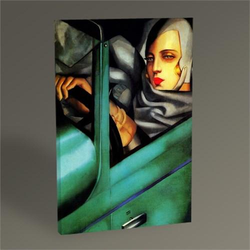 Tablo 360 Tamara De Lempicka Autoportrait Tablo 45X30