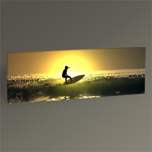 Tablo 360 Surfing On Ocean Waves Tablo 60X20
