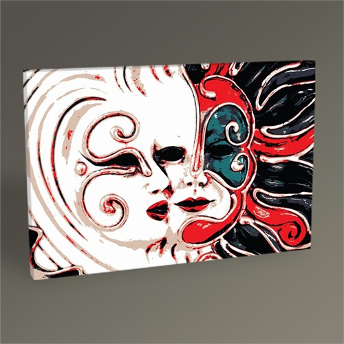 Tablo 360 Carnival Masks Tablo 45X30