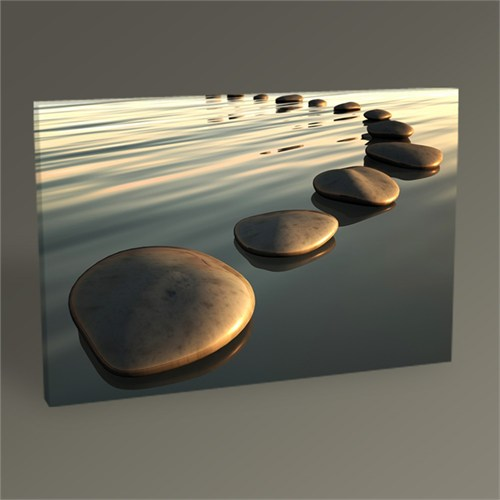 Tablo 360 Sunset And Stones Tablo 45X30