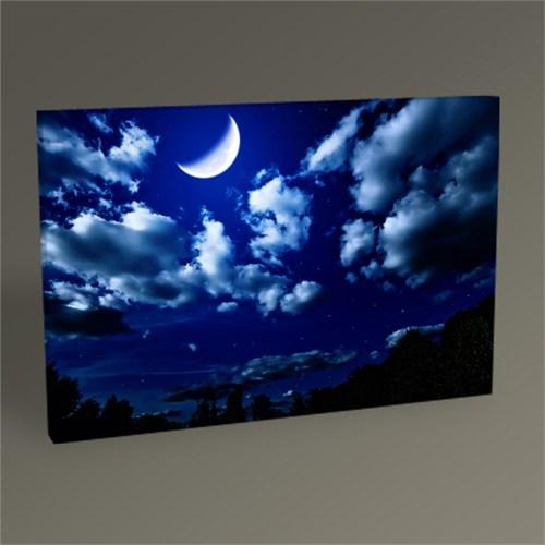 Tablo 360 Yarım Ay Ve Gece Tablo 45X30