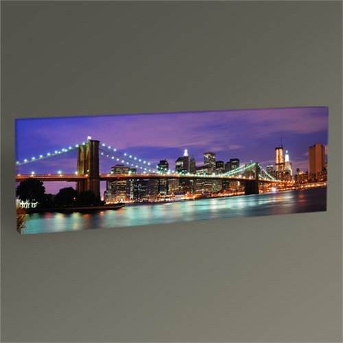 Tablo 360 New York City Brooklyn Bridge Tablo 60X20